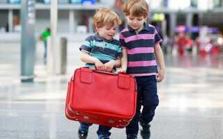 Как оформить разрешение на выезд за границу ребенка?