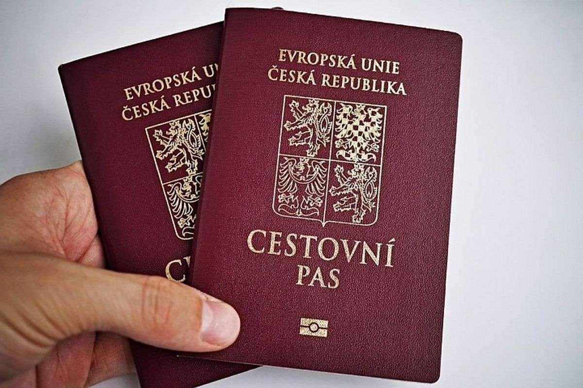 Национальный паспорт гражданина Чешской Республики