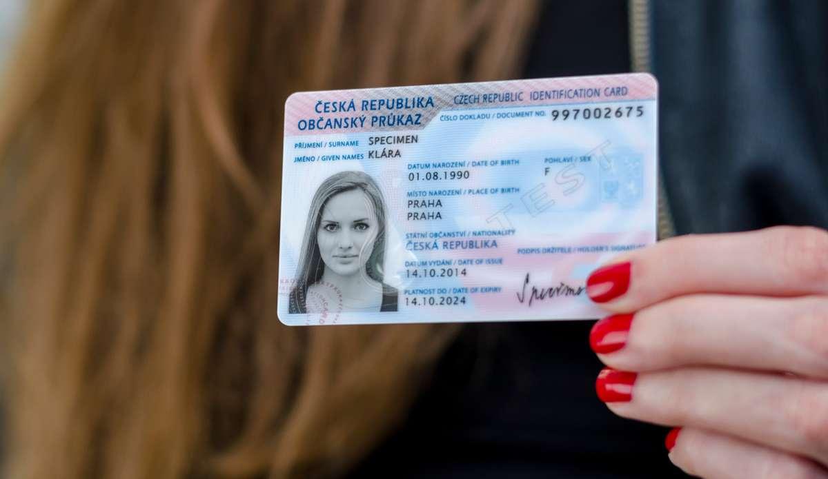 Czech Republic Identification Card