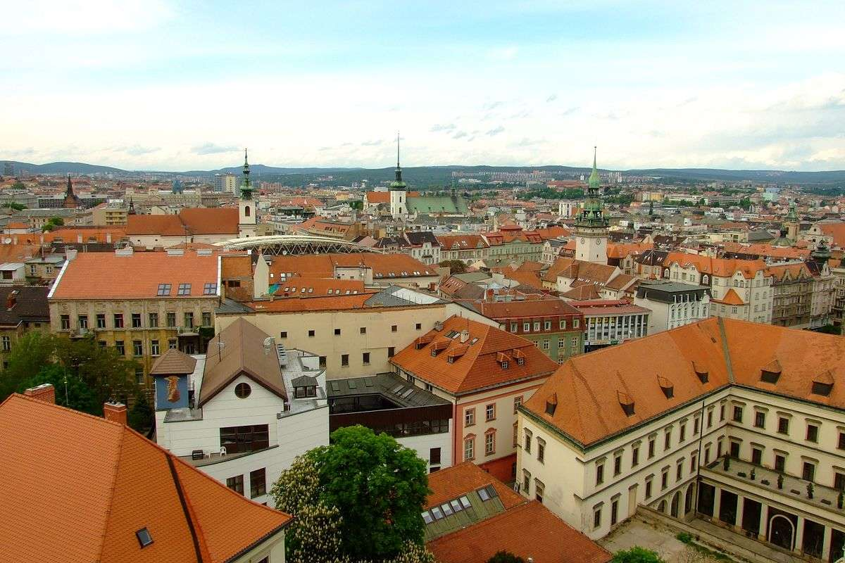 Панорама на крыши города