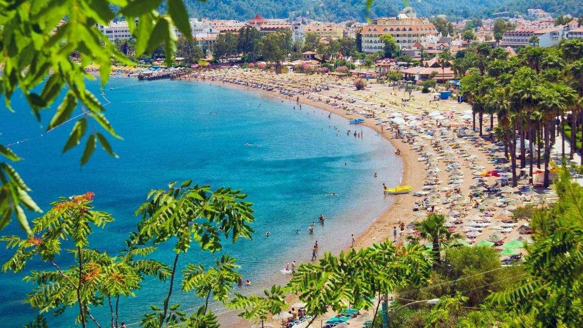 Курортное побережье Турции