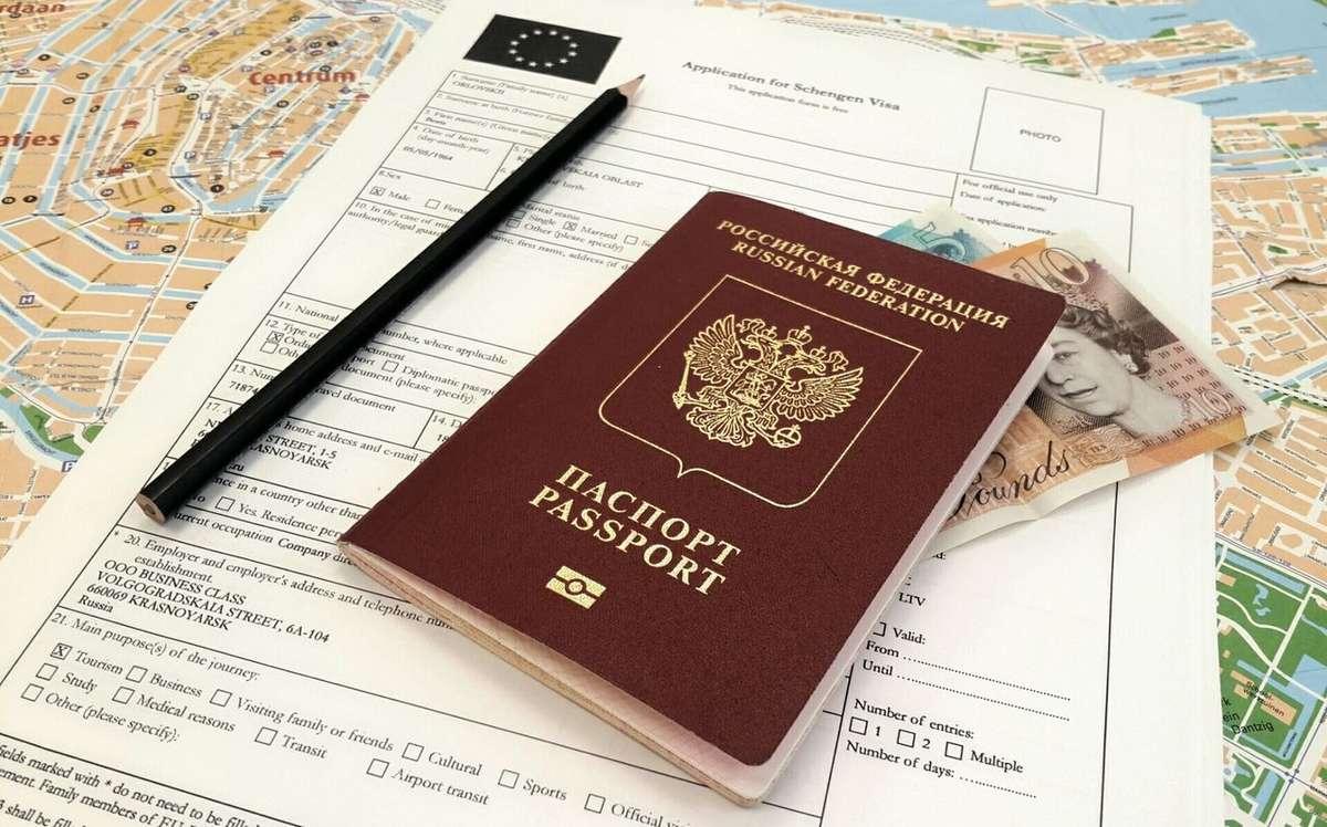Распечатанное заявление на шенгенскую визу