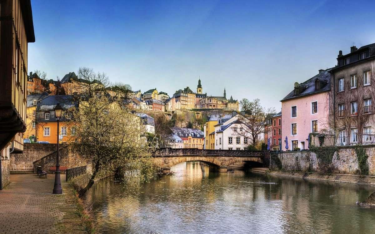 Красивая панорама европейского города