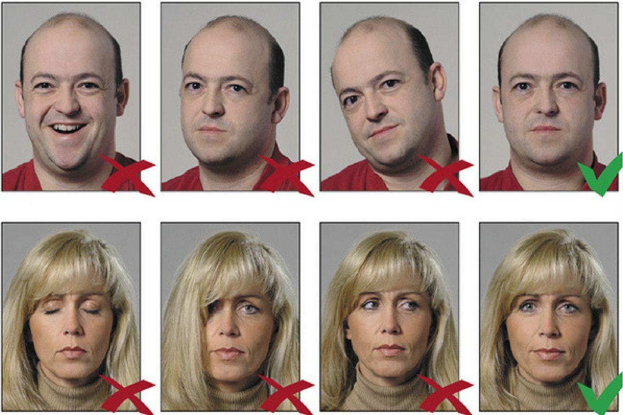 Как правильно фотографироваться на заграничный паспорт