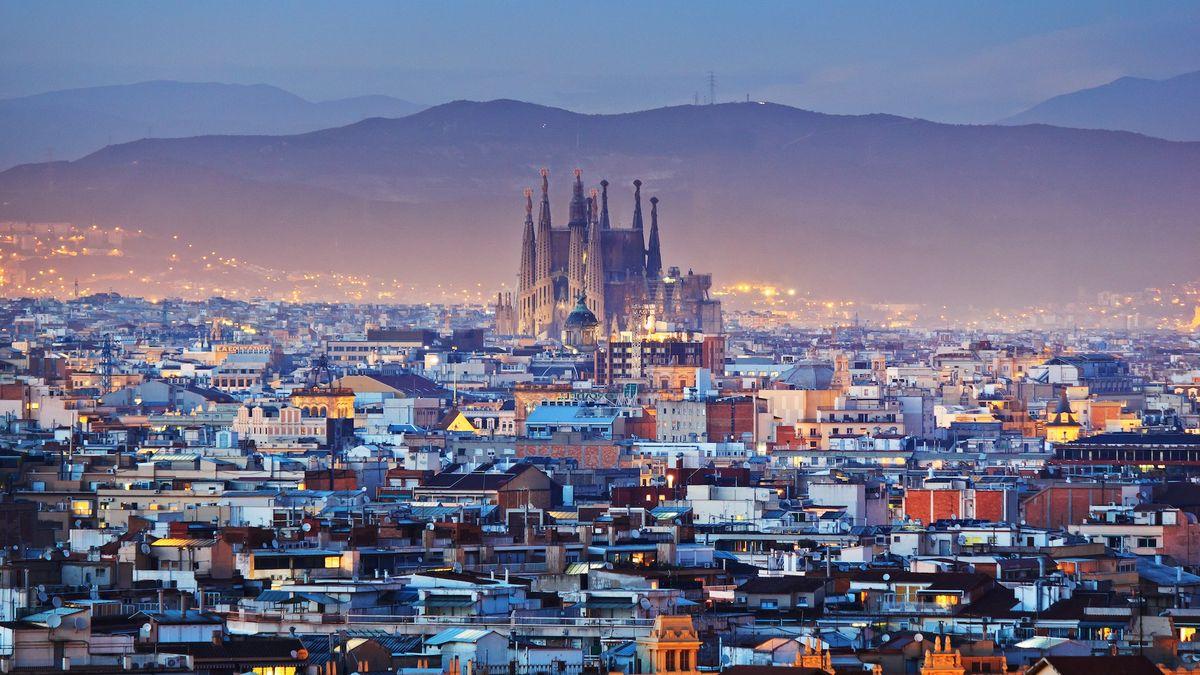 Панорама на Барселону