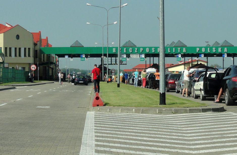 Граница Калининграда с Польшей