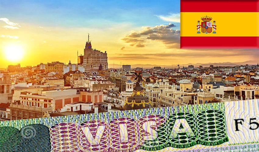 Панорама Испании на рассвете