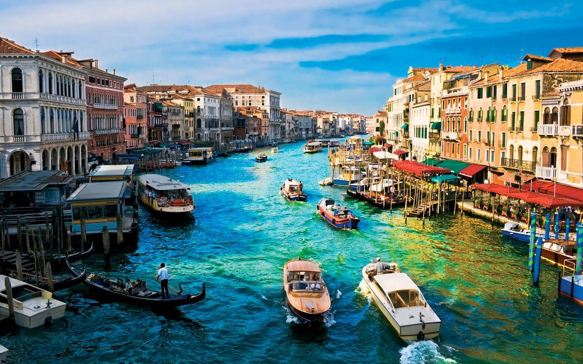 Панорама Венеции летним днем