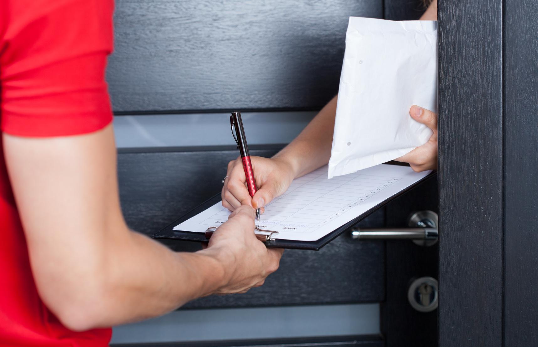 Курьерская доставка документов из Посольства на дом