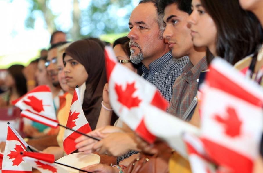 Эмигранты из разных стран в Канаде