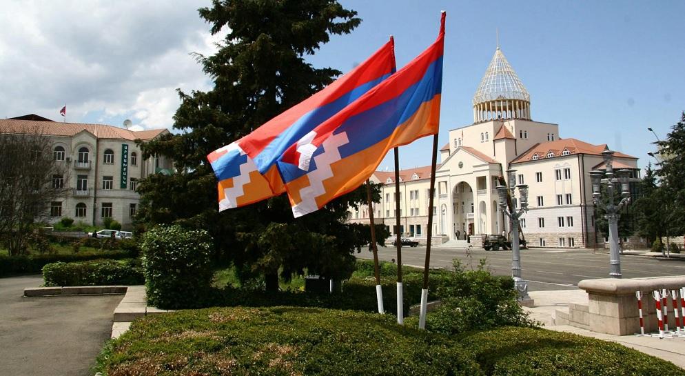 Флаги республики Арцах (Нагорного Карабаха)