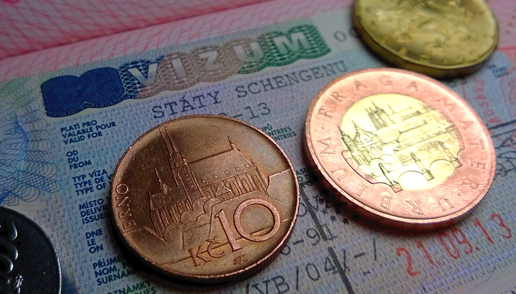 Деньги для оплаты консульского сбора