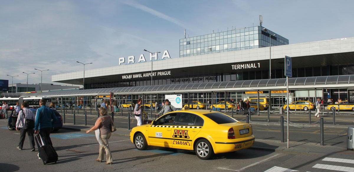 Здание аэропорта в Праге