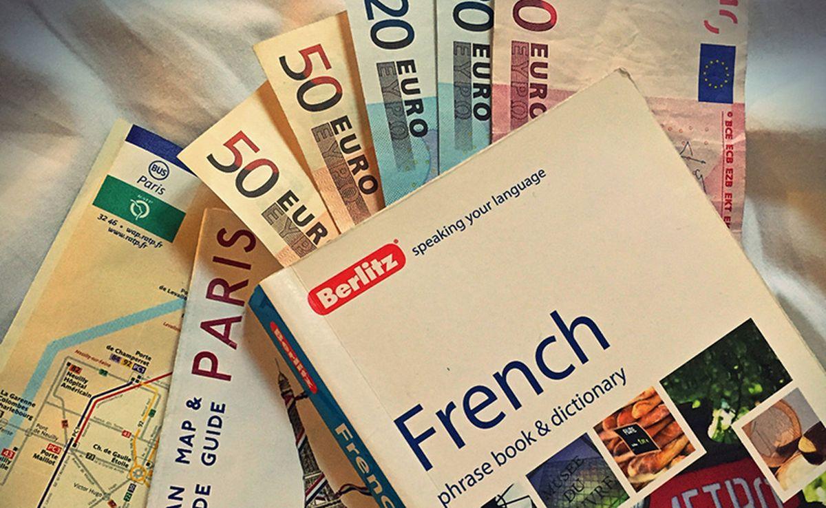 Деньги для поездки во Францию
