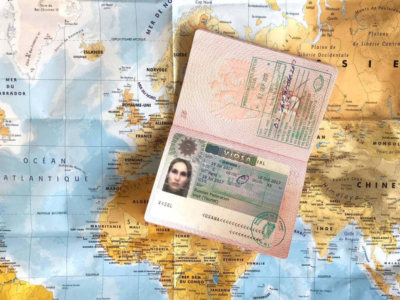 Паспорт с ирландсокой визой