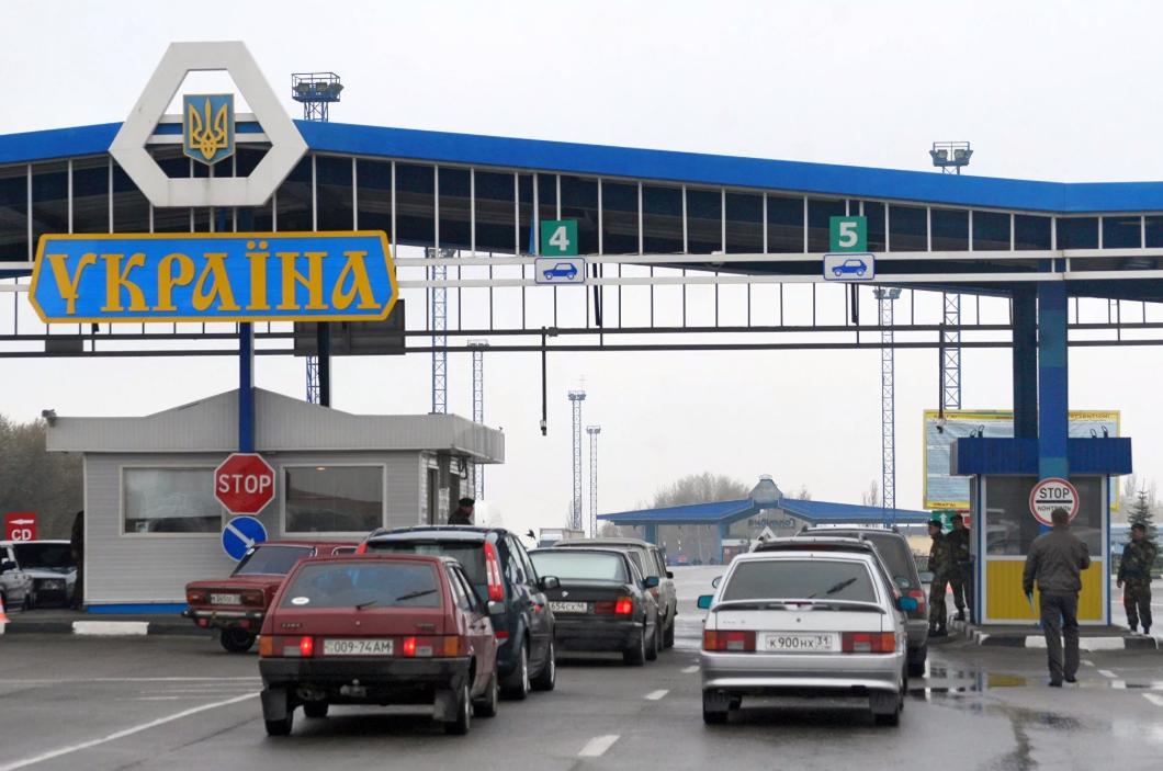КПП на границе Украины