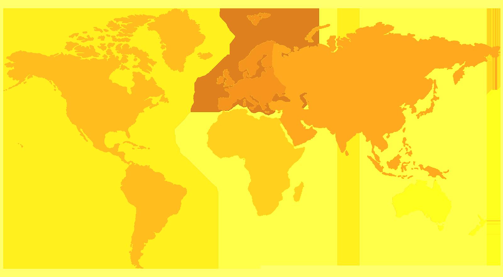 Схематичная карта мира
