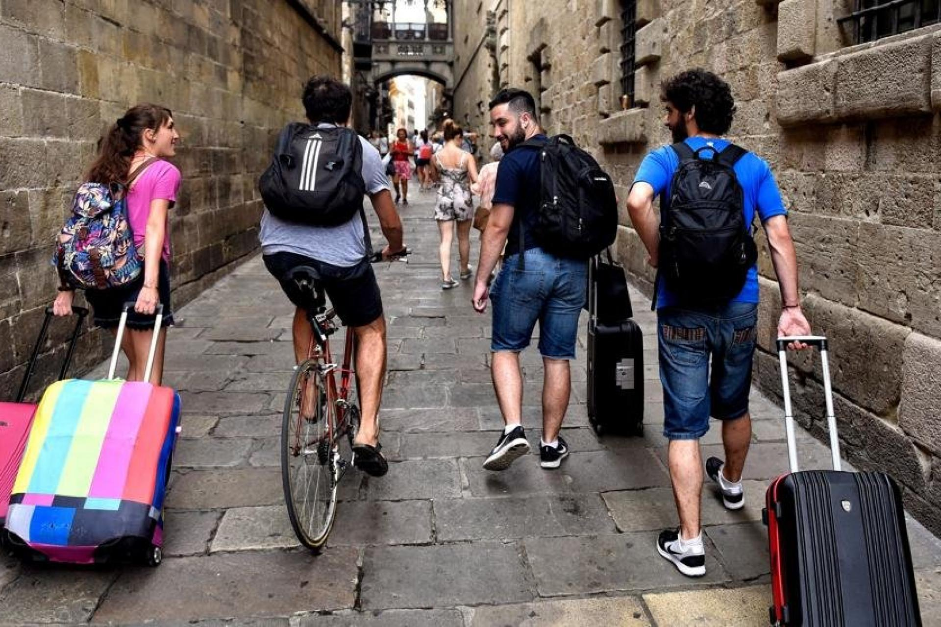 Первый день по приезду в Испанию