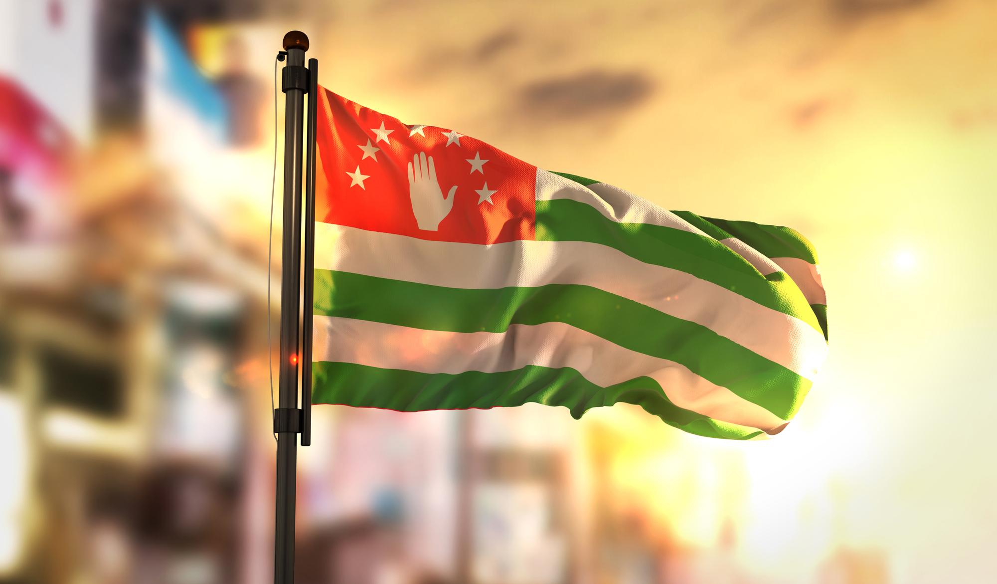 Государственный флаг Абхазии