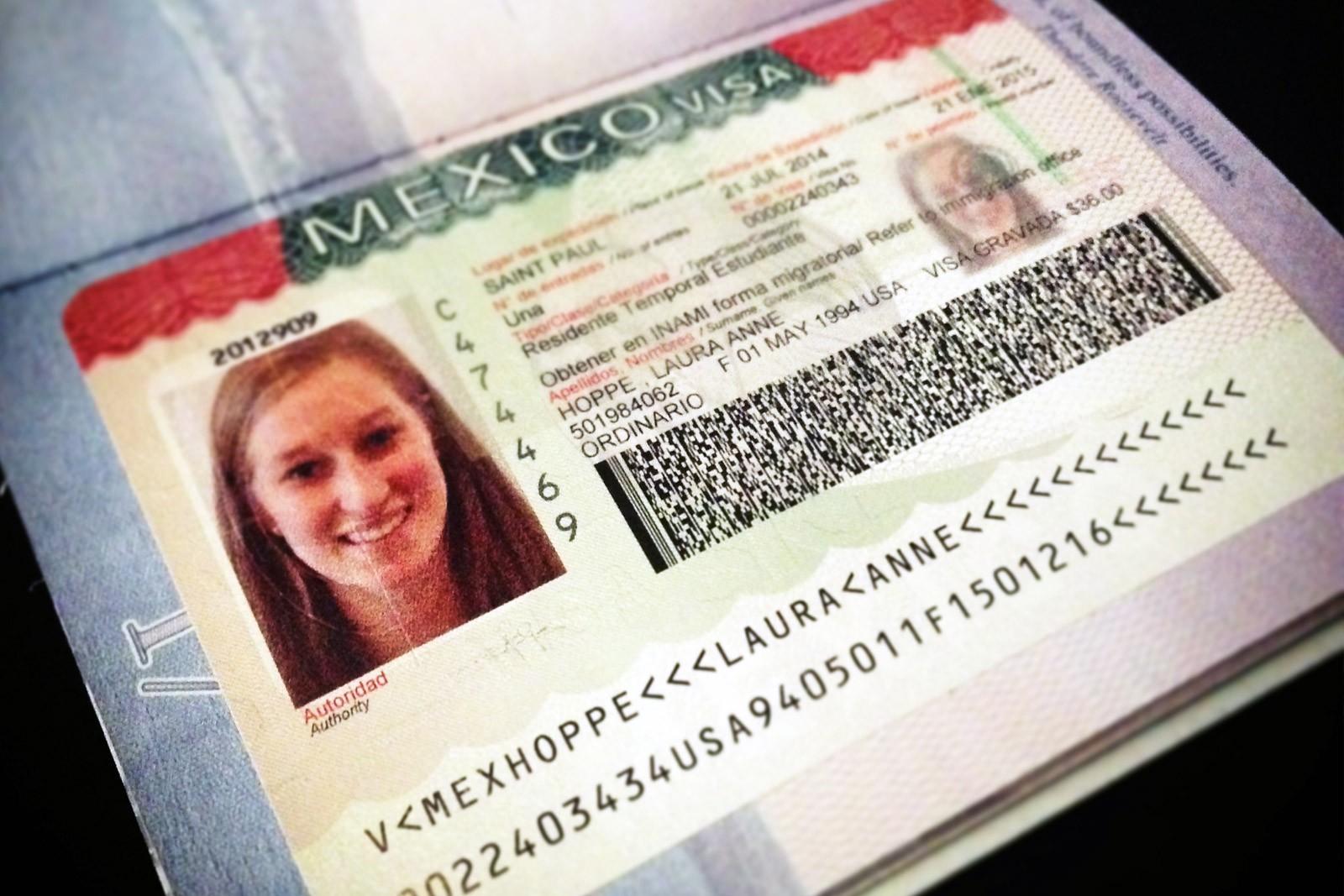 Национальная мексиканская виза