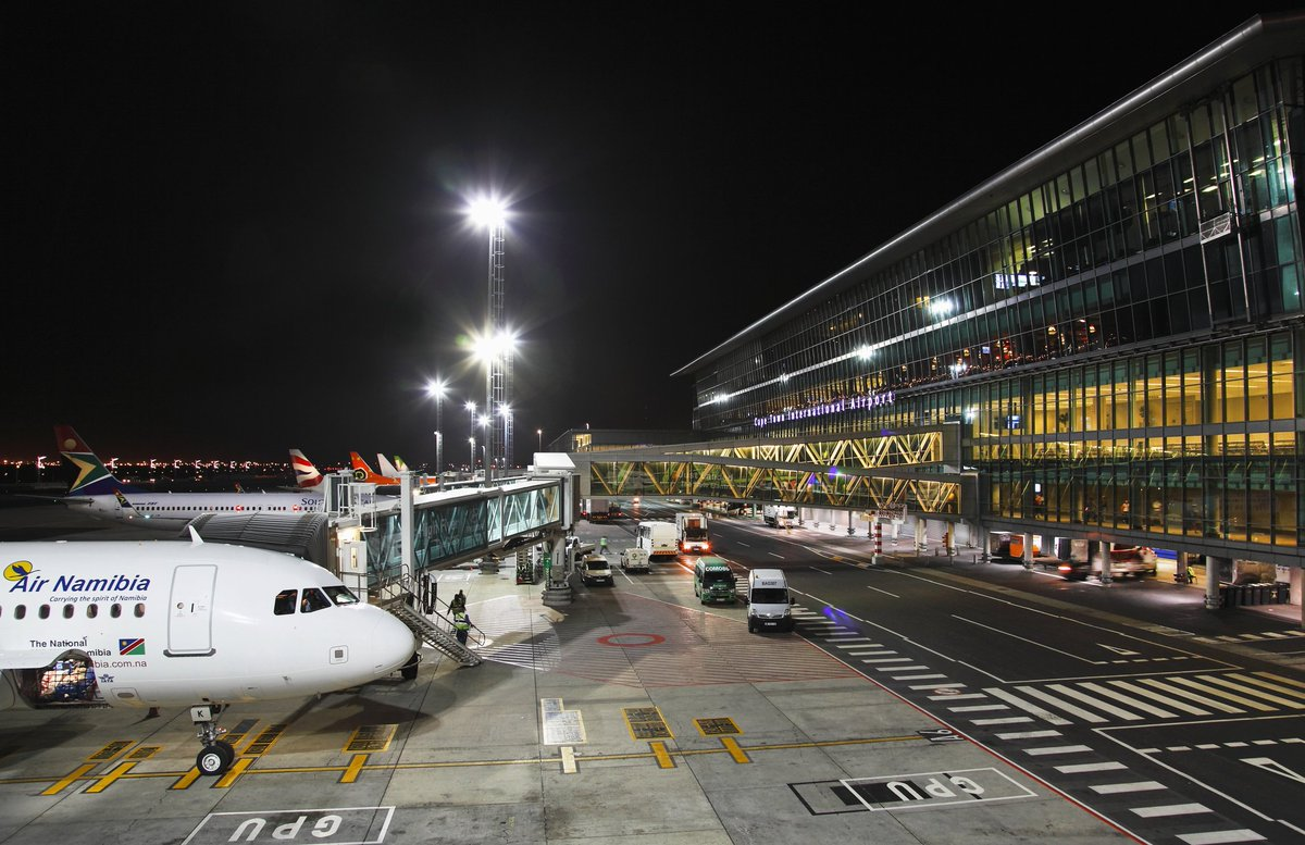 Пересадка в аэропорту Кейптауна