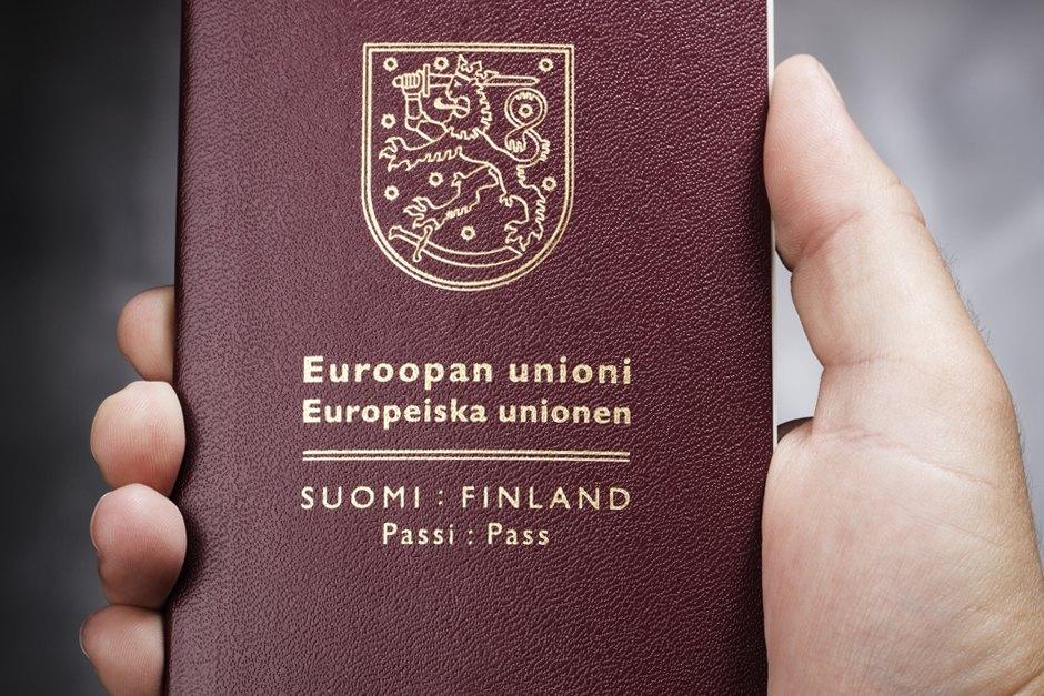 Финский национальный паспорт