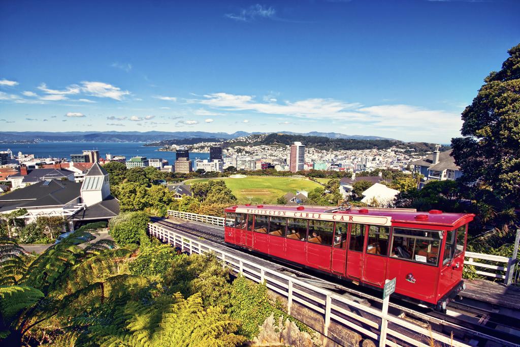 Туристический трамвай, курсирующий в Окленде