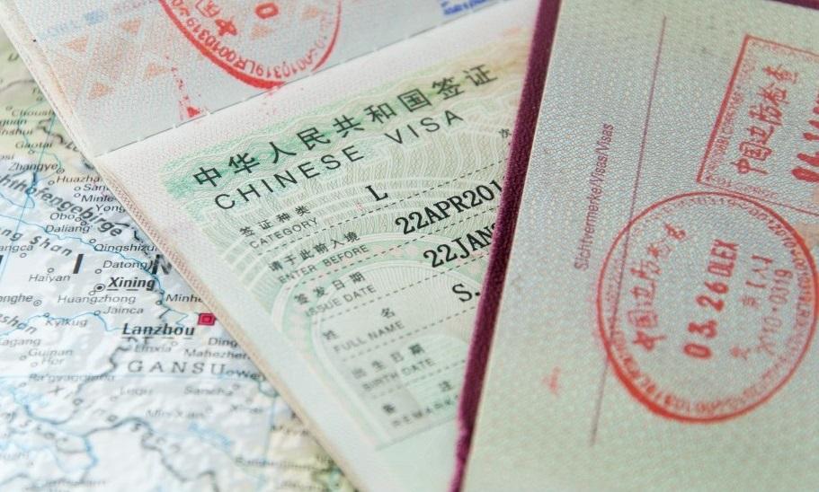 Загранпаспорт с китайской визой