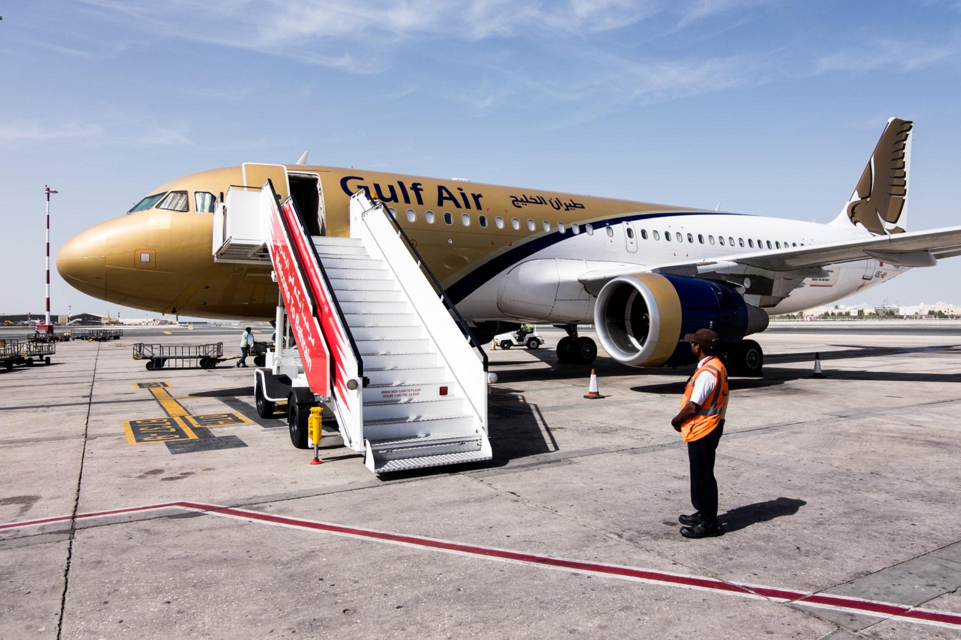 Пересадка в Манаме с авиакомпанией Gulf Air