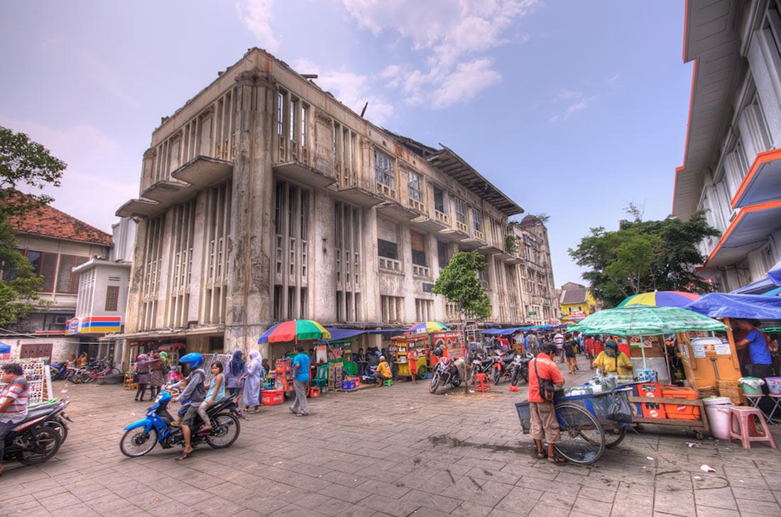 Улицы в Джакарте