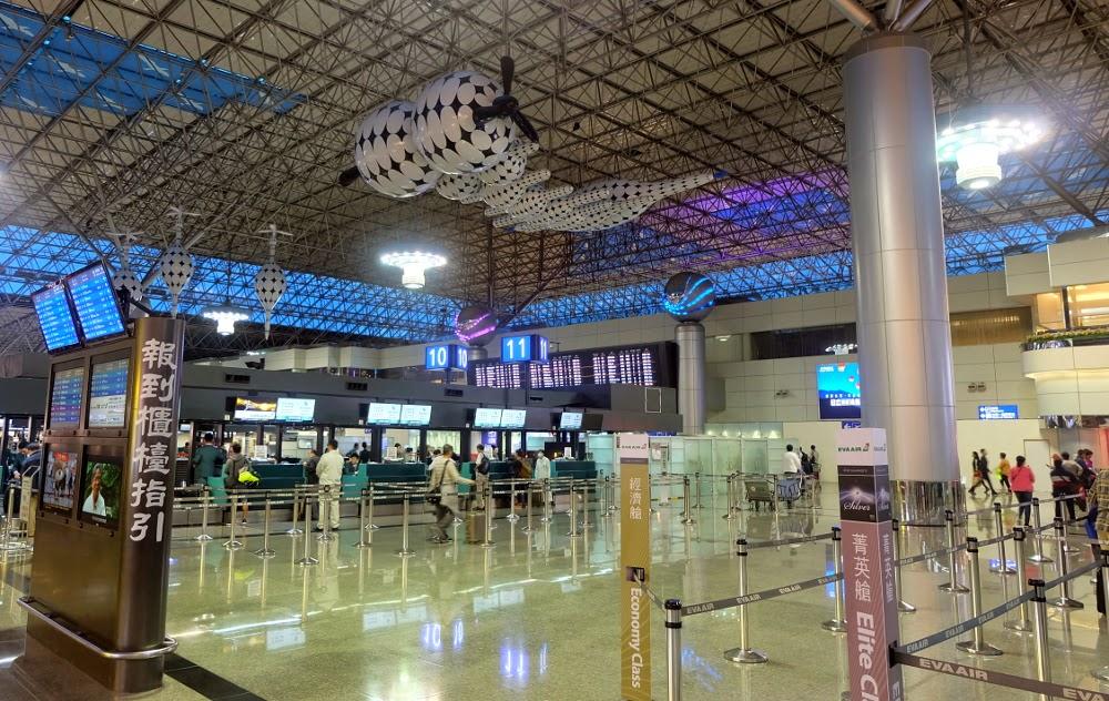 Аэропорт Тайбэя внутри