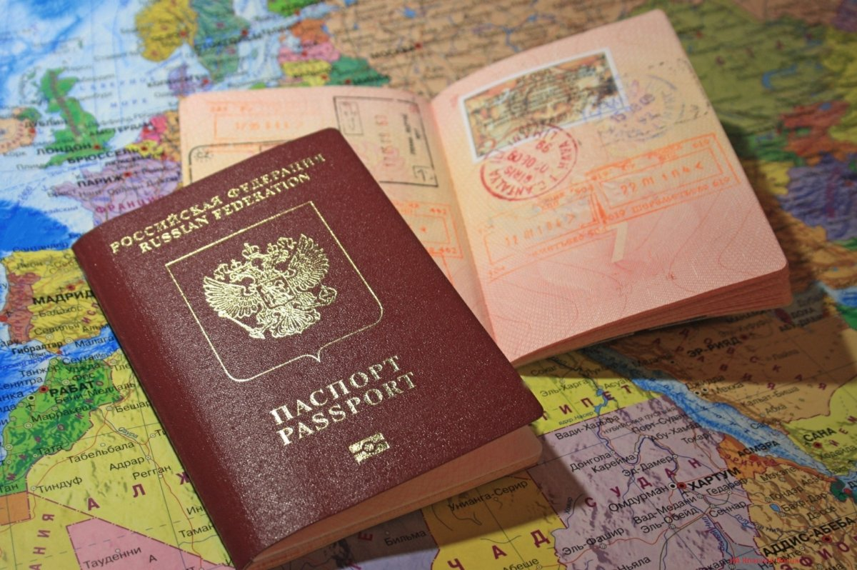 Ввизы в загранпаспортах
