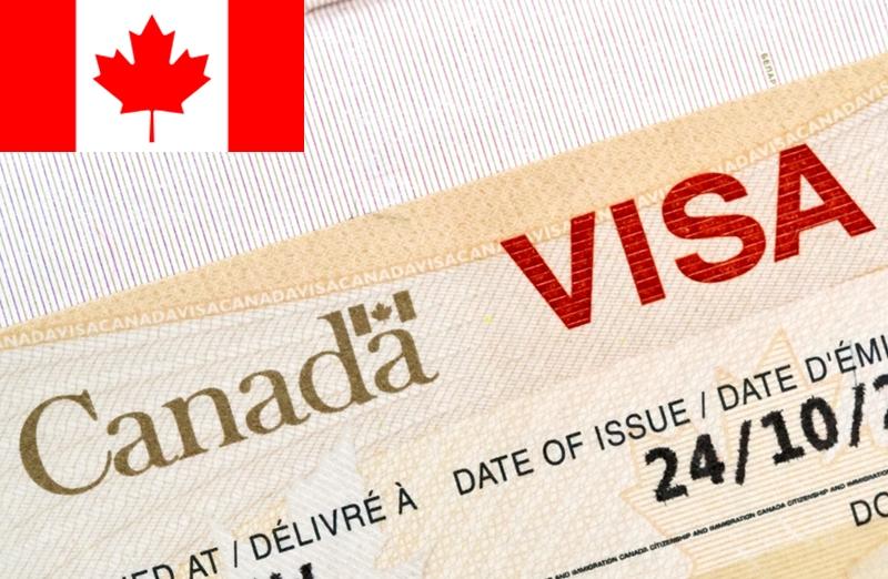 Канадская виза в паспорте