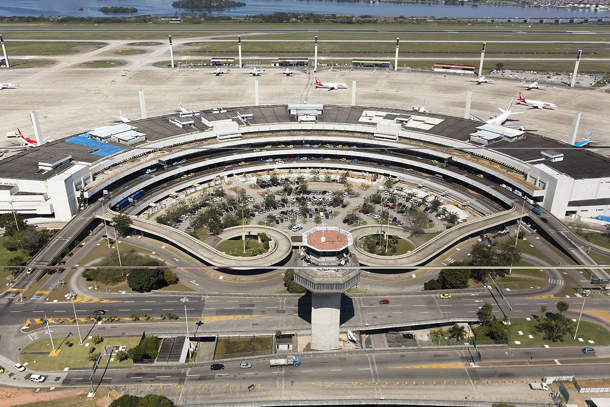 Международный аэропорт в Рио-де-Жанейро