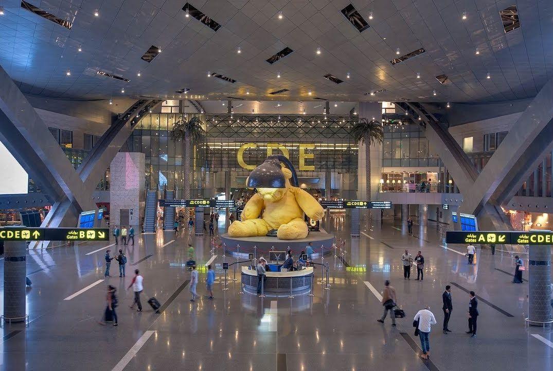 Международный аэропорт в Дохе