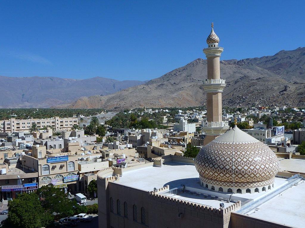 Вид на мечеть в Маскате