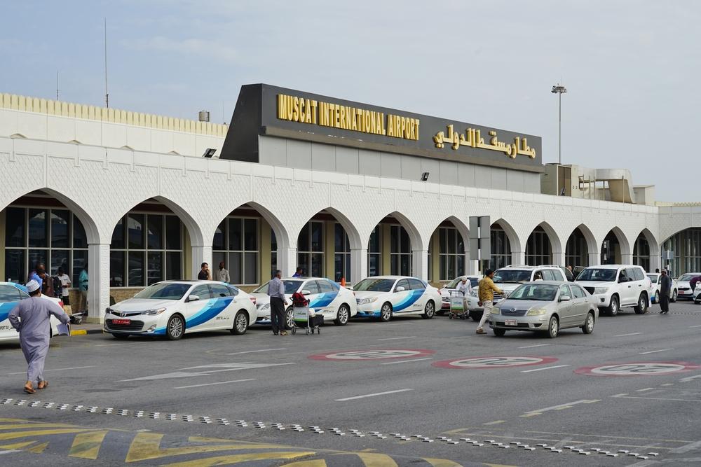 Международный аэропорт в Маскате