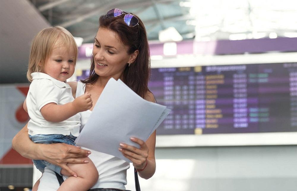 Документы на ребенка в аэропорту