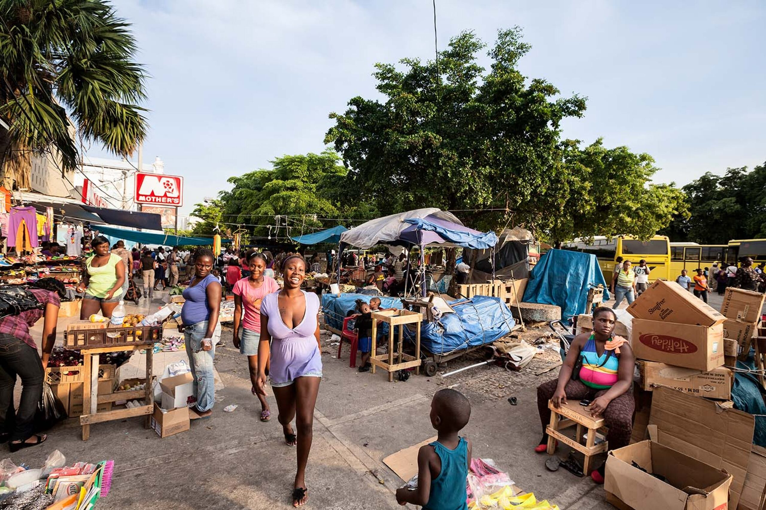 Рынок в Кингстоне